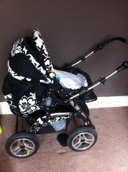 imaculate pram and car seat